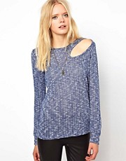 LNA Basin Slash Sweater