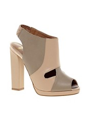 ASOS TEMPO Peep Toe Shoe Boots