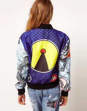 Image 2 ofMartine Rose For ASOS Printed Bomber Jacket