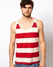 Jack & Jones Stripe Slub Vest