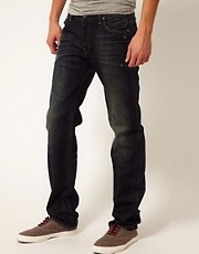 G-Star Jeans Straight Low Morris Forest Dust Wash