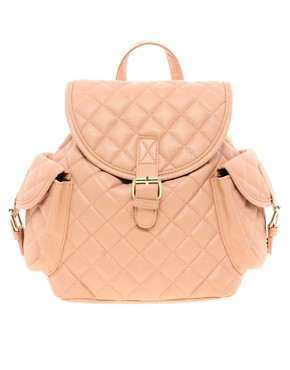 Image 1 ofASOS Mini Quilted Backpack