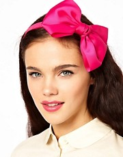 Johnny Loves Rosie Oversized Bow Alice Band