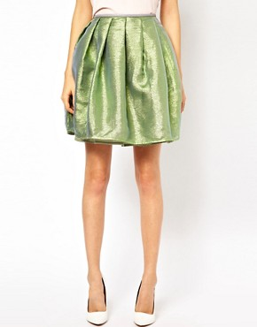 Image 4 ofAntipodium XOXO Skirt in Opal Metallic