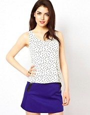Oh My Love Polka Vest