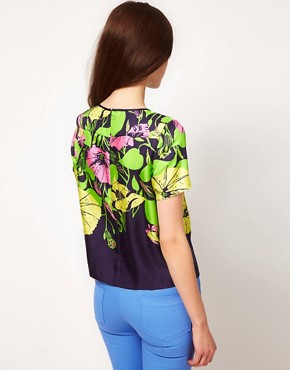 Image 2 ofWhistles &#39;60s Flower Print Top