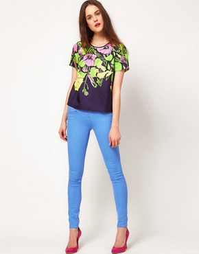 Image 4 ofWhistles &#39;60s Flower Print Top