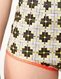 Image 3 of ASOS AFRICA Printed Hot Pants In Geo Print