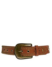 New Look Mega Stud Western Belt