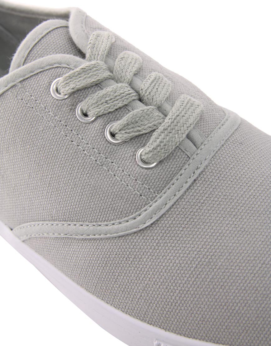 Image 2 of ASOS Oxford Plimsolls