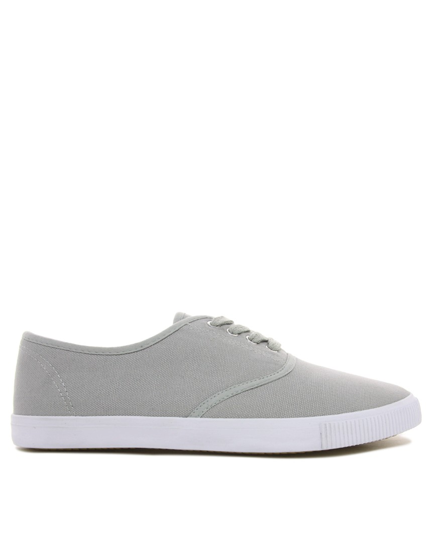 Image 4 of ASOS Oxford Plimsolls