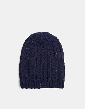 ASOS Cable Slouchy Beanie