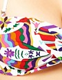 Image 3 ofMara Hoffman Techno Animal High Waisted Bandeau Bikini Set
