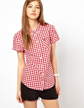 Image 1 of Fred Perry Classic Gingham Shirt