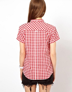 Image 2 of Fred Perry Classic Gingham Shirt