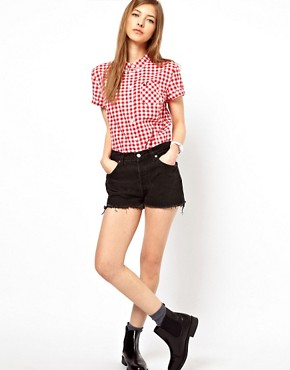 Image 4 of Fred Perry Classic Gingham Shirt