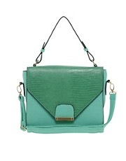 Liquorish Structured Shoulder Bag
