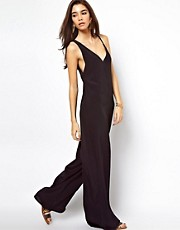 ASOS Jumpsuit with Asymmetric Straps