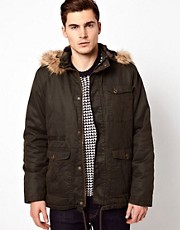 Barneys Originals Waxed Parka