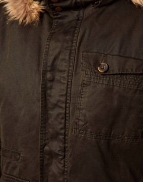 Image 3 ofBarneys Originals Waxed Parka