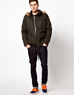 Image 4 ofBarneys Originals Waxed Parka