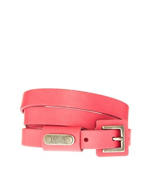 Image 1 of Pieces Noelle Leather Belt