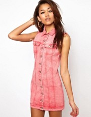 Motel Amelia Denim Dress