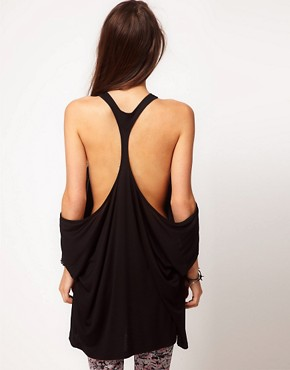 Image 2 ofASOS Top with Extreme Cut Out Shoulder
