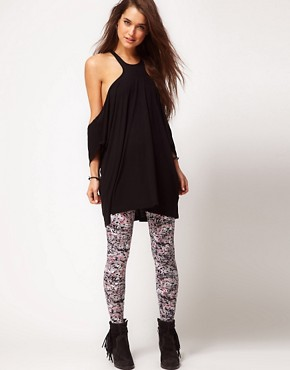 Image 4 ofASOS Top with Extreme Cut Out Shoulder