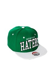 Gorra con broche trasero Boston Haters de Zephyr