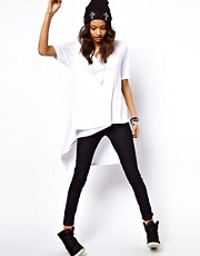 ASOS T-Shirt with a Diagonal Wrap