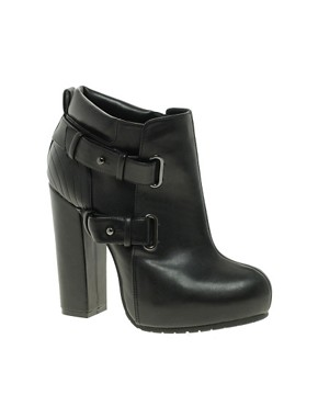 Image 1 ofASOS ASTRO Platform Ankle Boots