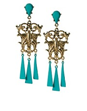 ASOS Metal Chandelier Earring