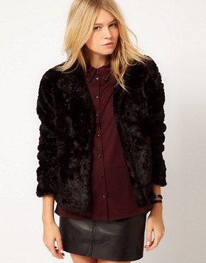 Image 1 ofOasis Faux Fur Coat