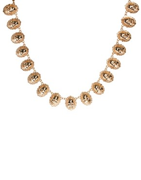 Image 2 ofASOS Skull Linked Necklace