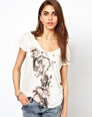 Religion Fallen Flower T-Shirt