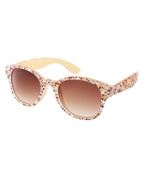 Image 1 ofAJ Morgan Delicate Floral Sunglasses