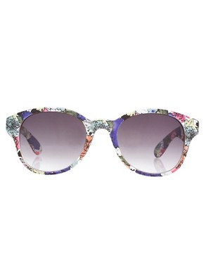 Image 2 ofAJ Morgan Delicate Floral Sunglasses