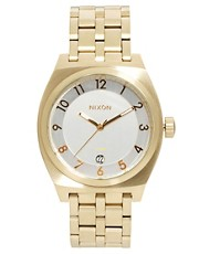 Nixon Monopoly Gold Watch