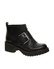 ASOS  AIRWAY  Ankle Boots im Biker-Stil