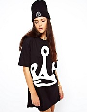 Other UK Crown T-Shirt Dress