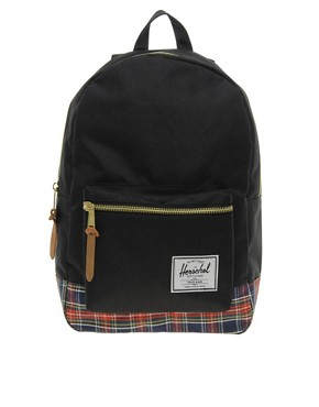 Image 1 ofHerschel Settlement Tartan Backpack