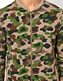 Image 3 ofASOS Bomber With Camo Print