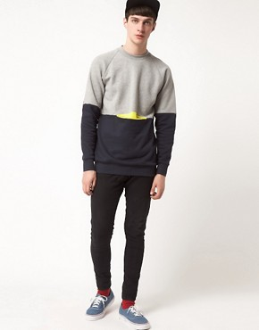 Image 4 ofLazy Oaf Sweat with Pocket Patches