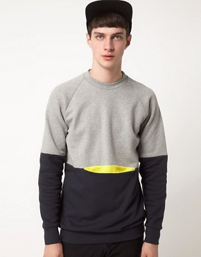 Image 1 ofLazy Oaf Sweat with Pocket Patches