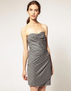 Image 1 ofSurface To Air Vienna Dress In Cotton