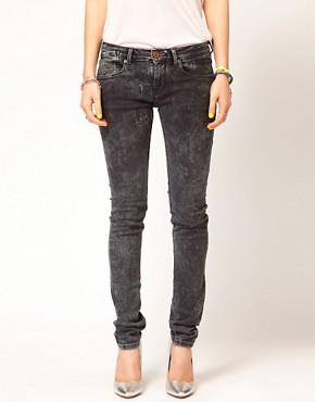 Image 1 ofMaison Scotch La Parisienne Jeans in Bleached Black