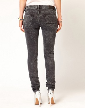 Image 2 ofMaison Scotch La Parisienne Jeans in Bleached Black