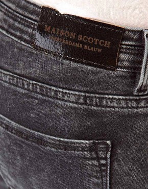 Image 3 ofMaison Scotch La Parisienne Jeans in Bleached Black