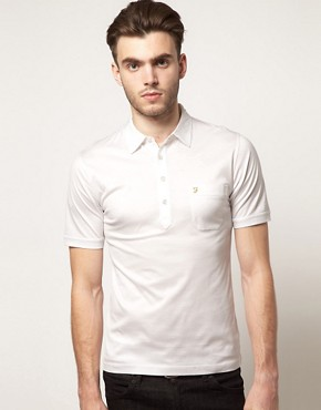 Image 1 ofFarah Vintage Ives Polo Shirt